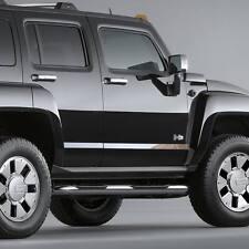 Chrome Aftermarket Door Panel Trim fits: 05-10 Hummer H3