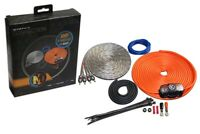 Memphis Audio 8 AWG Amplifier Installation Kit with RCA *8GKIT