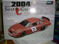 1/24 Revell 2004 nascar #8 Dale Jr. test car and stop watch