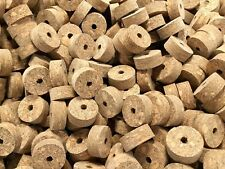 Cork Rings 100 Brown Burl 1 1/4 X 1/2 X 1/4 Inch Save!