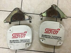 Subaru Impreza Sti GC8 GF8 JDM Foglights Cover With Brackets (Used)