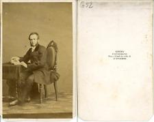 Chéri, Monsieur Jouruel Conseiller à la Cour  CDV vintage albumen carte de visit