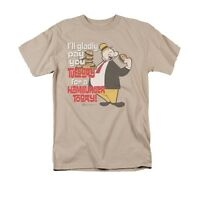 POPEYE WHIMPY TUESDAY Licensed Adult Men's Graphic Tee Shirt SM-3XL