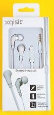 xqisit Stereo Headset - Flachkabel - weiß