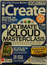 iCreate Issue 180 Ultimate iCloud Masterclass iPhone Apple Mac FREE SHIPPING SB