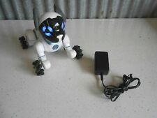 WowWee Chip Robot Robotic Toy Dog with Charger Model 0805 Nice Condition