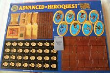 Games Workshop Advanced Heroquest Tokens Chits Stairs Throne Chest Wound BNOS