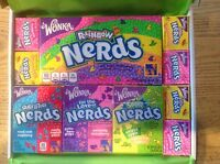Wonka Nerds Rainbow Nerds Gift Box - birthday American Retro USA Candy Sweets