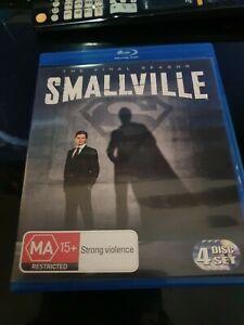 Smallville Blu-Ray 4-Disc The Final Season Free Post vgc blu ray bluray