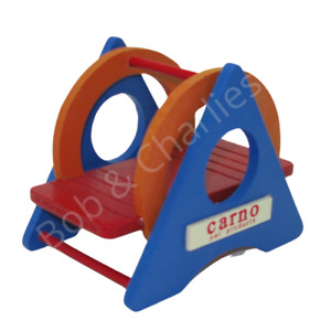 Cage Toy Hamster Gerbil Mouse Activity Boredom Play Wood Swing Seesaw Playground
