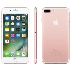 Apple iPhone 7  128 GB  Rose Gold Unlocked Smartphone w Accessories
