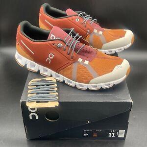 On Cloud 70 30 Brick Pecan Running Sneakers, Men's Size 11