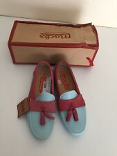 Ladies New Mocks Office Flat loafers  Shoes Size 4