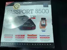 Escort Passport 8500x50 Black Radar Detector Sealed!