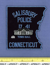 SALISBURY CONNECTICUT Sheriff Police Patch OLD TOWN HALL POLICE STATION