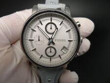 New Old Stock FOSSIL Original Boyfriend ES3820 Chronograph Quartz Women Watch