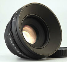 Customized Cine lens Canon 50mm f/1.2 EF mount for BMCC Canon 5D 6D C300 RED
