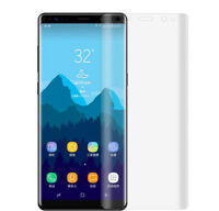Clear Soft PET Full Curved edge Screen Protector Film for Samsung Galaxy Note 8