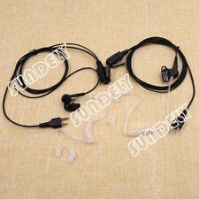 Brand New Headset Earpiece Mic Fbi Style For Midland 2 Way Radio Walkie Talkie