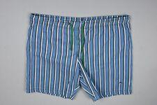 Etro Men's Blue White Stripe Swim Short Size XL Mint