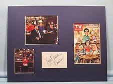 Ted Danson in Cheers signed by Jean Kasem aka Loretta Tortelli