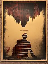Castro Theatre Se7en Seven David O'Daniel Movie Art Print Poster Mondo Brad Pitt