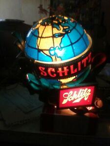 1976 Schlitz Beer Globe Motion Lamp