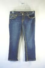 Women's Zoo Jeans Premium Jean Denim Cropped Pants Size 9