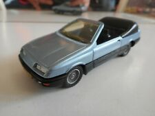 Solido Custom Build Ford Sierra Cabriolet in Light Blue on 1:43
