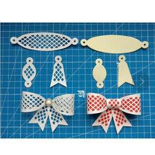 6x Bow Tie Design Metal Cutting Die For DIY Scrapbooking Album Paper Card Hot UK