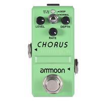 ammoon Nano Series Analog Chorus Guitar Effect Pedal True Bypass S7N3