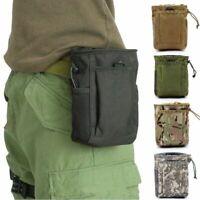 Tactical Magazine Utility Drop Dump Pouch Molle Military Gun Ammo Bag Heavy Duty