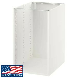 """Brand New IKEA SEKTION Base Cabinet Frame in White 18x24x30"""" 202.653.96"""