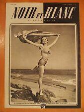 NOIR et BLANC N° 182 du 04/08/1948-Ma piscine a trois mille kilomètres de large