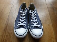 Converse All Star  Low Navy & White Size 7 Women's