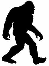 Car window decal truck outdoor sticker Bigfoot silhouette apeman Sasquatch