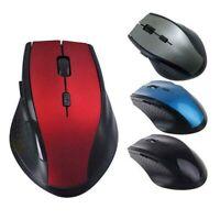 Smart 2,4 GHz Wireless Mouse Mäuse &USB-Empfänger für PC Laptop Desktop Neue