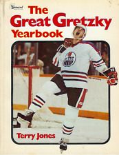GREAT GRETZKY YEARBOOK by Jones; 1981 1st softcover; nice pictorial GREAT ONE !!
