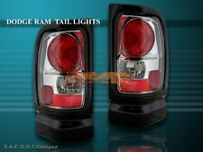 1994-2001 DODGE RAM SMOKE TAIL LIGHTS BRAKE LAMPS 1500 2500 3500
