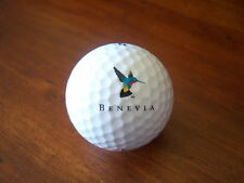 LOGO GOLF BALL-BENEVIA..HEALTH DRINK...BIRD LOGO...