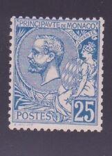 """MONACO N°25 """" ALBERT 1er 25c BLEU """" NEUF xx TTB"""