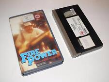 VHS Video ~ Fire Power  ~ Paul Ford ~ Small Case Ex-Rental ~ Pre-Cert ~ CBS/FOX