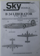 Skymodels 1/72 72054 B-24 Liberator  decal set