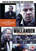 Wallander: Collected Films 21-26 DVD (2014) Krister Henriksson cert tc 3 discs