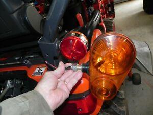 Kubota BX,B small footprint rear signal & flasher lights (2 lights)