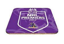 2017 Premiership Premiers Melbourne Storm NRL Drink Coaster Man Cave Bar Gift