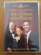 DVD ** Six degrés de séparation**  Will Smith Sutherland Channing