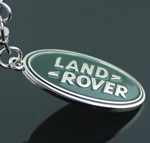 For Land Rover Car Keyring Chain Logo Titanium Keyring Keychain Key Chain