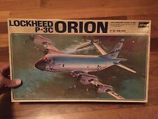 Hasegawa 1/72 - Lockheed Orion P-3C Anti-Submarine Patrol Plane - NIB, Vintage!!