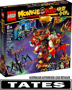 LEGO 80021 Monkie Kid's Lion Guardian - Monkie Kid from Tates Toyworld